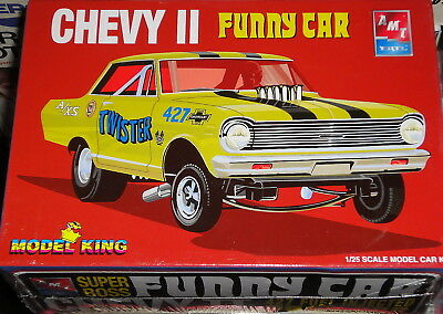 Amt Model King Chevy Ii Super Boss Awb Funny Car 1:25
