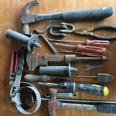 bulk lot of old tools - come and take them please