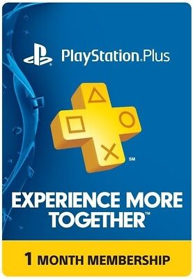 PlayStation PLUS 1 month (2x14)=28 +  FREE 7 days Psnow  Membership *No code*