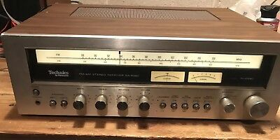 Technics SA 5360 Receiver As Is Work Sold As A Parts Unit