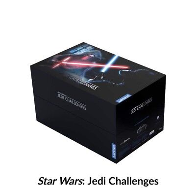 Lenovo AR-7561N Star Wars Jedi Challenges AR Headset - Black (ZA390002US)