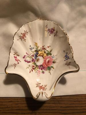"Vintage ""Hammersley"" Fine Bone China (Shell) Trinket Dish (Footed & Deep)"
