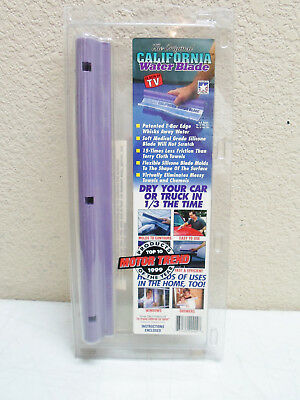 The Original California Dry Blade One Pass Water Squeegee