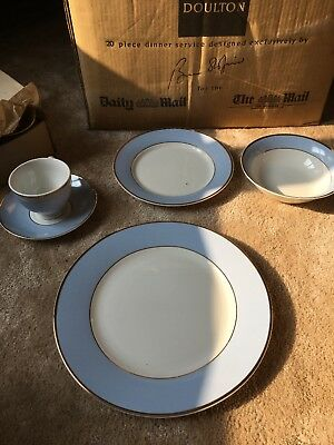 Royal Doulton 20 Piece Dinner Service - Daily Mail - Designed By Bruce Oldfield