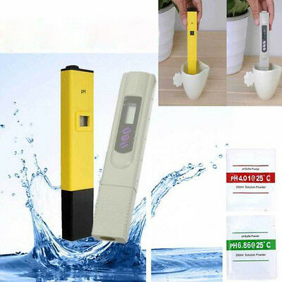 Digital TDS Meter &PH Tester Paper Aquarium Pool Hydroponic Water Test Pen Stick