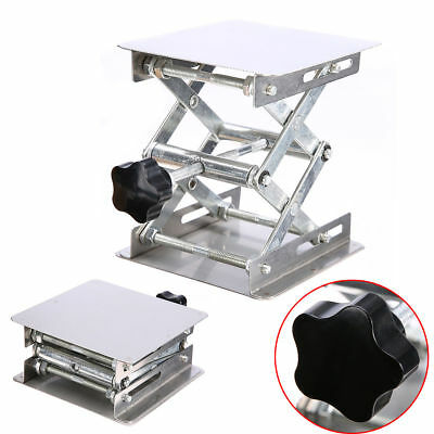 4''×4'' Stainless Steel Lab-Lift Lifting Platforms Stand Rack Scissor Lab Jack