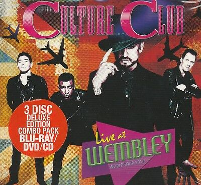 Culture Club Live At Wembley World Tour 2016. Deluxe 3 Disc. Blu-Ray. CD. DVD.