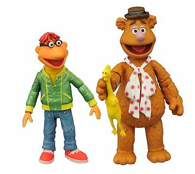 Diamond Select - Muppets Action Figures Serie 1 - Fozzie e Scooter