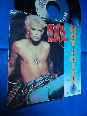 Billy Idol - Hot In The City - Portugal 45 Single
