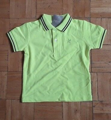 BNWT baby boys top bright yellow 12-18 months NEXT