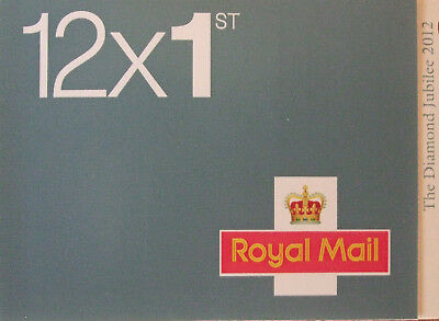New 1St Class Book Of 12 Stamps - Discount Sale