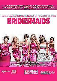 Bridesmaids (DVD, 2011) new freepost