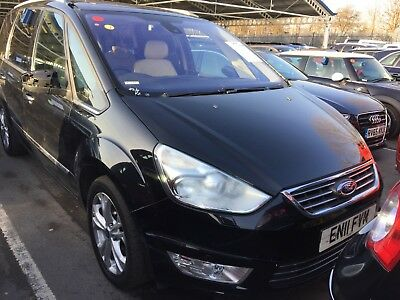 11 Ford Galaxy 2.2 Tdci 200 Titanium X Aut 86K, Nav, Leather Spares Or Repair