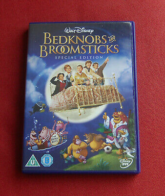 Bedknobs and Broomsticks Special Edition - Region 2 DVD - Walt Disney Classic!