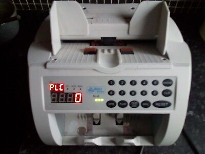 Bank Note Currency Counter working condition