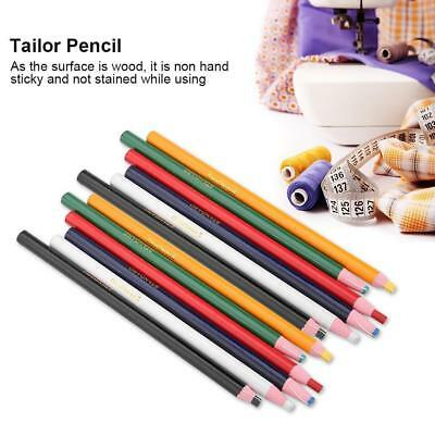 12pcs Tailors Dressmaker Pen Pencil Erasable for Fabric Leather Marking Sewing