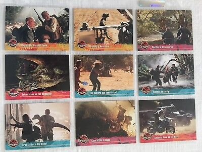 Lost World - Jurassic Park Trading Cards