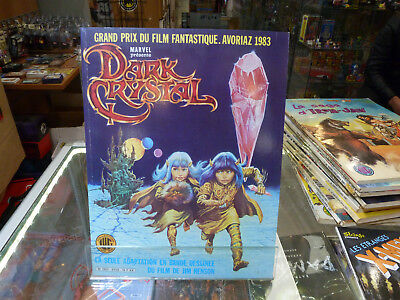 BD DARK CRYSTAL 1983  éd LUG  MARVEL