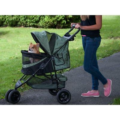 Pet Carrier Transport Doggy Stroller Pushchair Outdoor Dog Special Edition Nozip