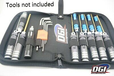DGI tool case for rc tools cars helicopters bots drones losi hpi redcat traxxas