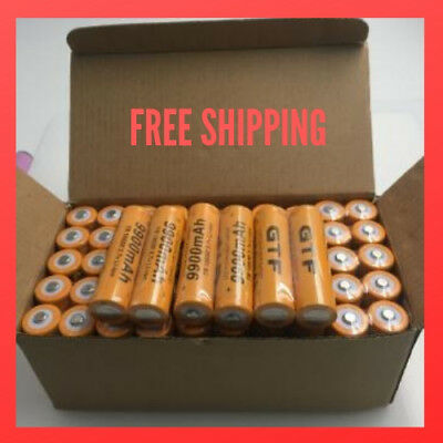 Newest Arrival Batteries Tr 18650 3.7V 9900Mah Rechargeable Li-ion Battery