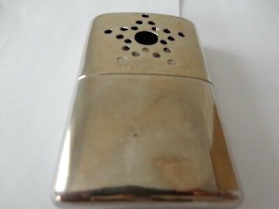A Ww1 Era Crome Type Metal Hand Warmer In Very Good Condition