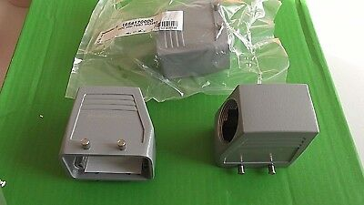 Metal Hood Weidmuller 1654170000 PG29 Side Entry Size 4 Rockstar Connector x1pc