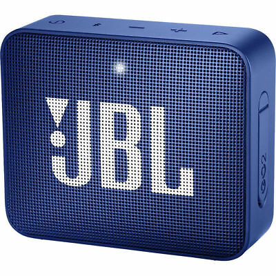 JBL Go Portable Bluetooth Waterproof Speaker Color Blue - Authorized Dealer!