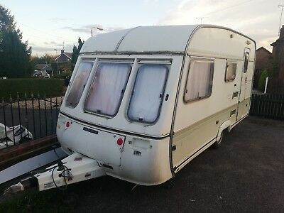 swift 4 berth caravan spares or repair