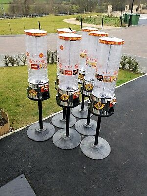 8 X Tubz Sweet Vending Towers Machines In Excellent Condition!