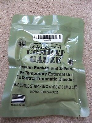 Latest Version Quik Clot Combat Gauze
