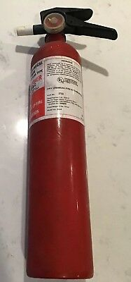 Vintage 1977 Sears  4 Lbs BC Fire extinguisher Dry Chemical EMPTY