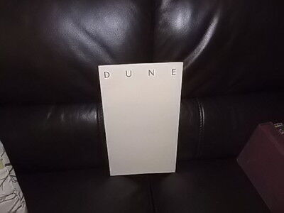 DUNE  OFFICIAL PROMO RARE! given out at the Premiere! DAVID LYNCH frank herbert