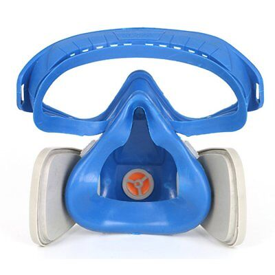 Full Face Respirator Gas Mask With Goggles Paint Chemical Protective Mask AWR