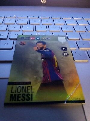 PANINI ADRENALYN XL FIFA 365 2019    #6 Top Master Lionel Messi  NOT MINT