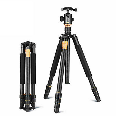 "Professional 60"" Aluminium Travel Tripod Monopod for DSLR Camera Camcorder Z0G2"