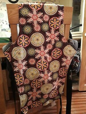 Connecta Baby Sling Carnival Print buckles - standard size baby carrier