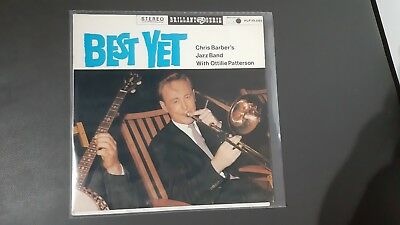 CHRIS BARBER´s Jazz Band with Ottilie Patterson - Best yet    -LP-