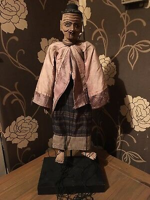 Vintage Marionette Puppet Handmade Outstanding Example