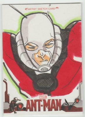 Ant-Man Ud 2015 Sketchafex Sketch Card Artist Unknown