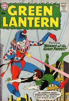 Us Comics Green Lantern #1-224 Silver/modern Digital Collection On Dvd