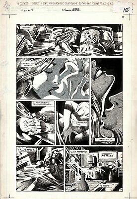 TODD SMITH - VIGILANTE #20 Large, Page 12, Love Scene