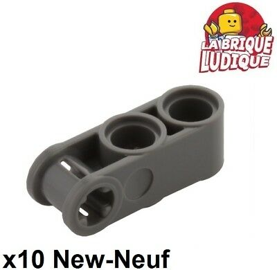 Lego Technic 4 connecteurs noirs Black Axle pin connector angled #1 NEW 32013