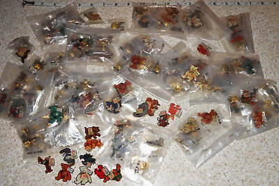 Lot of 200 Plus TY Beanie Babies Pins McDonalds Collector DI Pins