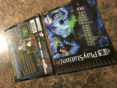 Syphon Filter 2 - Playstation 1 Ps1 - Front And Back Cover Only