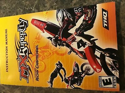 Mx Superfly - Playstation 2 Ps2 - Instruction Manual Only