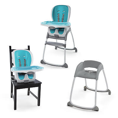 ae0e779a5870 Ingenuity  Trio Smart Clean - 3-in-1 High Chair (Aqua)