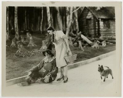 Judy Garland, Ray Bolger & Toto Dog in The Wizard of Oz 1939 Vintage Photograph