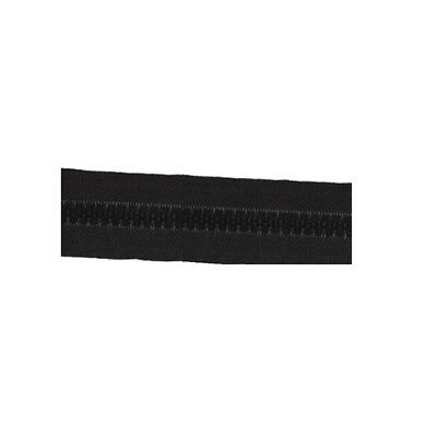 Molded Tooth Zippers - 54 Yards - size: #8 - BLACK