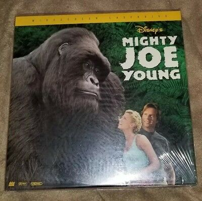 Mighty Joe Young  1999 Diseny Laserdisc HTF late Release!!